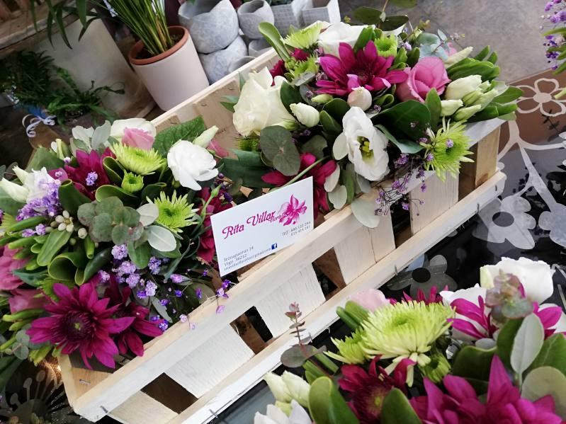 flores agradecimiento