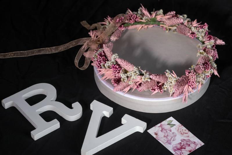 Diadema de boda. Rita Villar