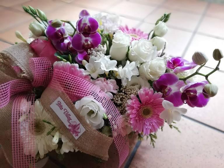 Flores Enhorabuena