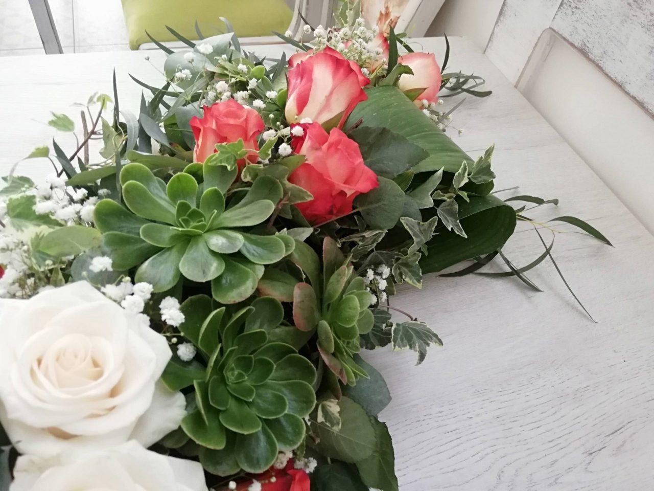 Flores bienvenida hogar