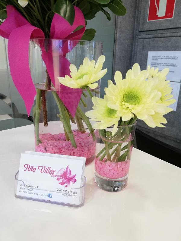 Flores para recibimiento en tu casa