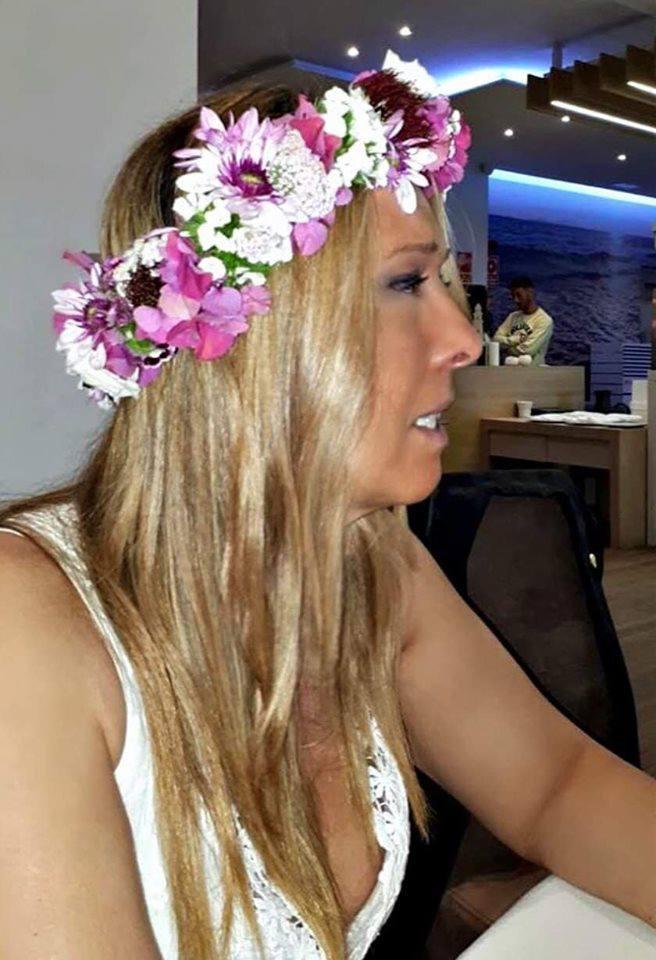 Tocado Marta Piñeiro